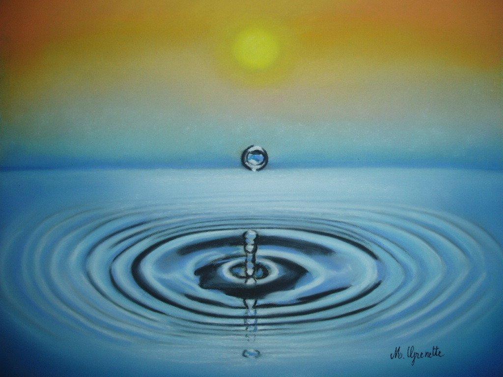 3 goute d'eau
